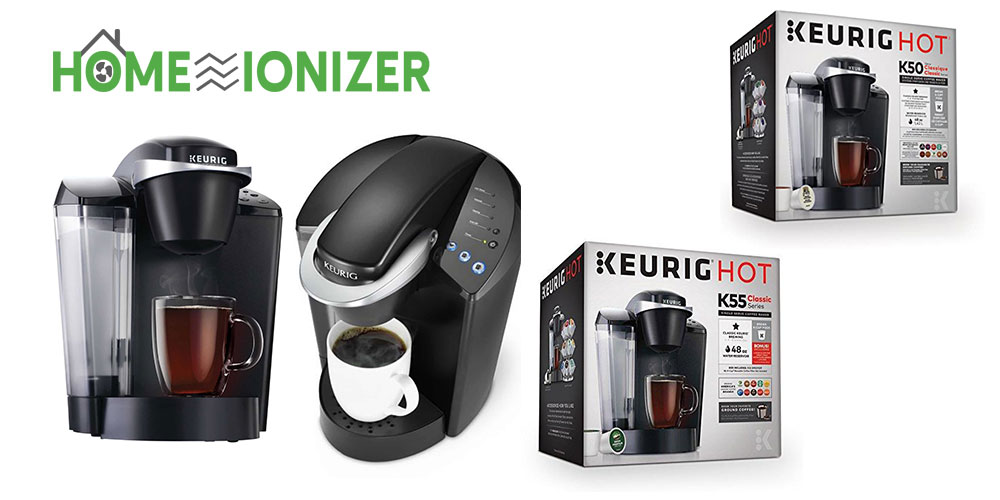 Know the Difference Between Keurig K50 and K55